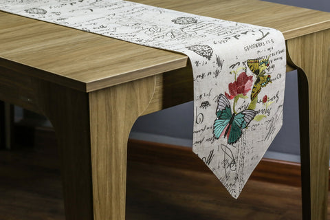 Butterfly Table Runner | 13x72 inches