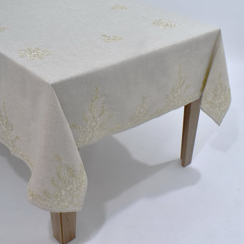 Arabesque Dining Table Topper | 72x90 inches