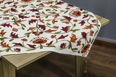 Aurora Square Table Topper | 40 inches