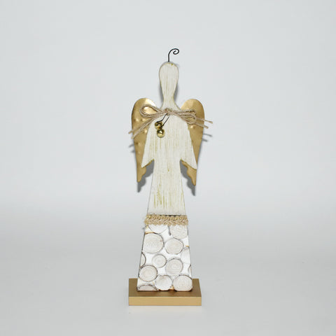 Decorative Wooden Christmas Angel | Tall