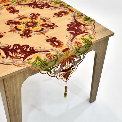 Ariana Net Square Table Topper | 40 inches