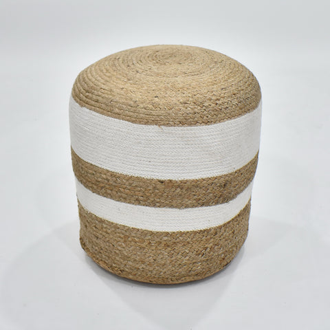 Cylindrical Pouf  | 47 x 40 cm