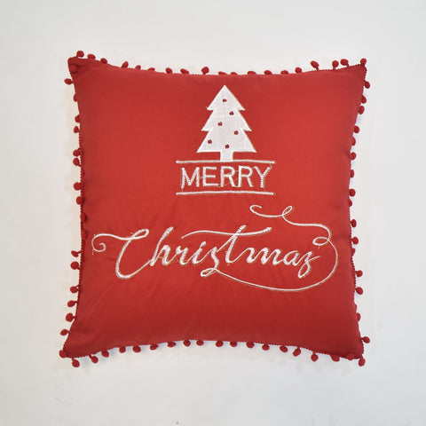 Merry Christmas Cushion Cover | 40 x 40 cm