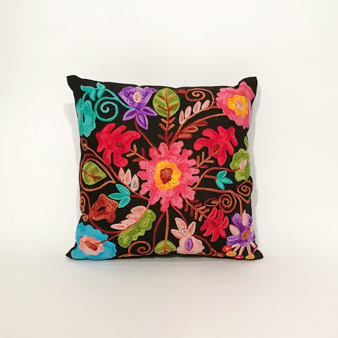 Karun Embroidered Cushion Cover | 44 x 44 cm