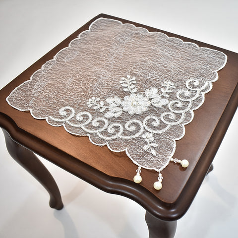 Bellinda Square Doily | 12 inches
