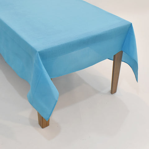 Classic Plain Dining Table Topper | 72x108 inches