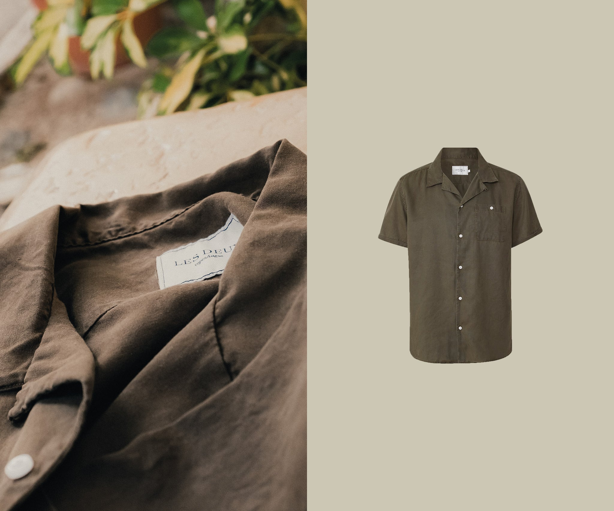 Tencel shirt short sleeved - laurent shirt