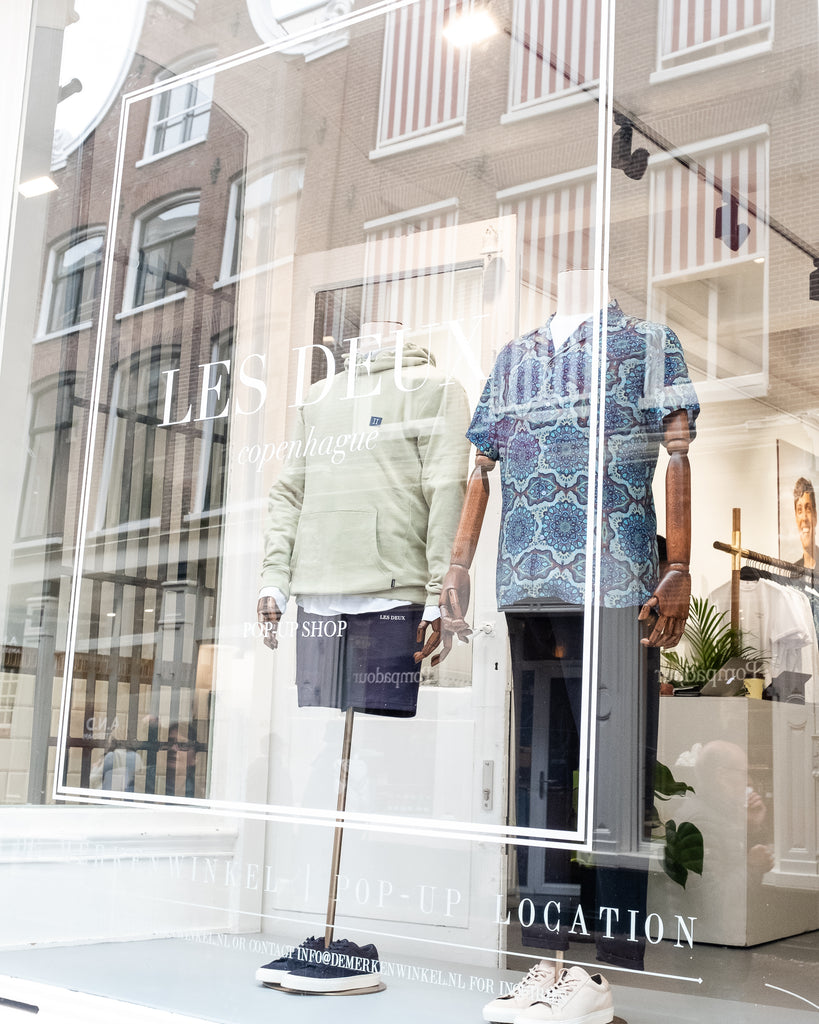 Les Deux Pop-up store Amsterdam
