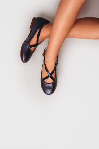 Beberlis Girls leather navy cris cros mary jane Dress shoes-girls Shoes-BEBERLIS-Hopscotch Shoes Australia