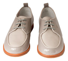 Beberlis Boys Two Tone Ice Brogue Dress Shoes -Boys Shoes-BEBERLIS-Hopscotch Shoes Australia