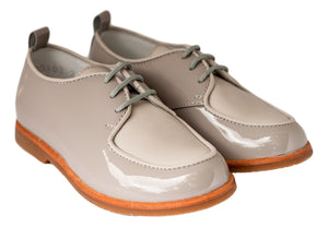 Beberlis Boys Two Tone Ice Brogue Dress Shoes-Boys Shoes-BEBERLIS-Hopscotch Shoes Australia