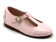 Beberlis Pink t-bar Mary Jane-Girls Shoes-BEBERLIS-Hopscotch Shoes Australia