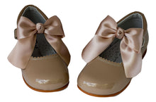 Classic Camel Mary Jane with a Bow  - girls -Hopscotch Shoes Australia