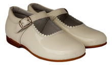 Classic Cream Mary Jane - girls -Hopscotch Shoes Australia