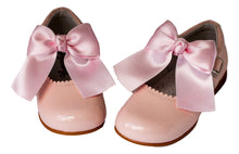 Classic Light Pink Mary Jane with a Bow  - girls -Hopscotch Shoes Australia