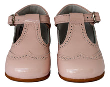 Light Pink baby t-bar bootie-Baby Shoes-Hopscotch Shoes Australia