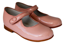 Pink Button Mary Jane with pink trimming- girls shoes -Hopscotch Shoes Australia