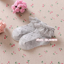 Lace Ruffle Frilly Ankle Short Socks