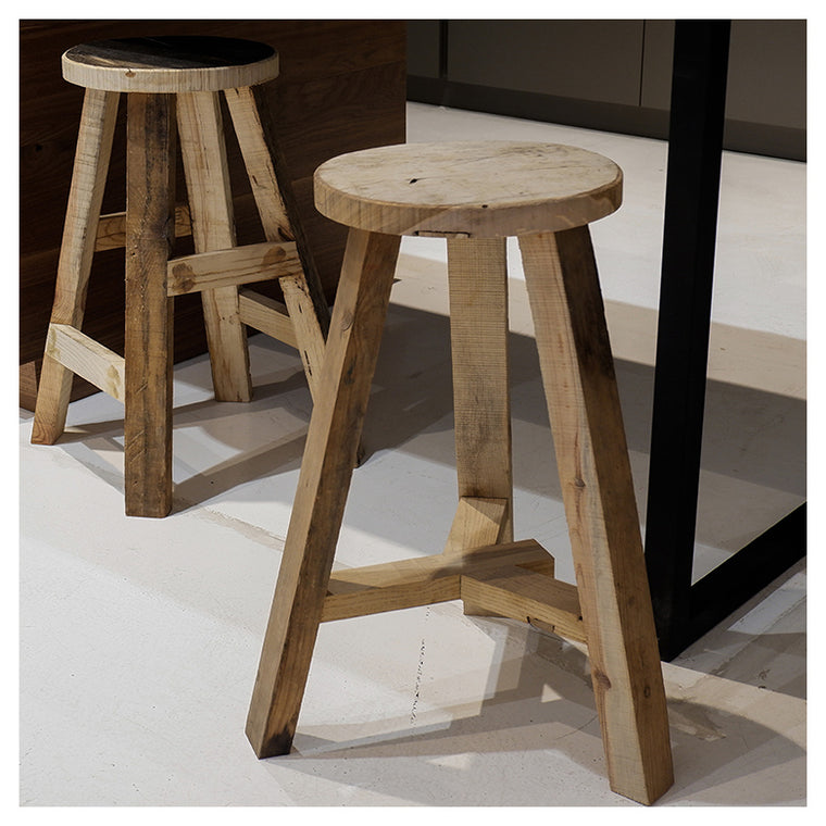 ELM KITCHEN DINING STOOL