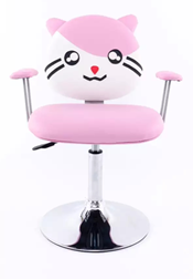 SALON CHAIR KIDS KITTY PINK
