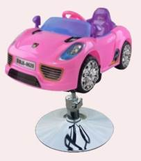 SALON CHAIR KIDS PORSCHE PINK