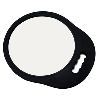 Back Mirror Oval Foam Padded