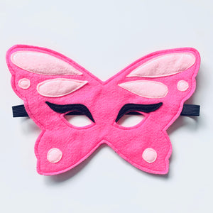 Belle Butterfly Felt Facemask