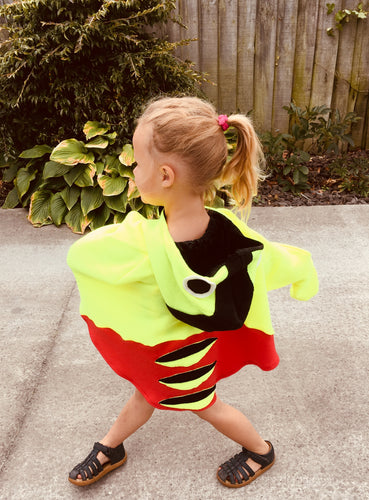 Kiwiana Busy Bee Hooded Cape