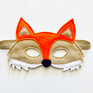 Fergie Fox Felt Facemask