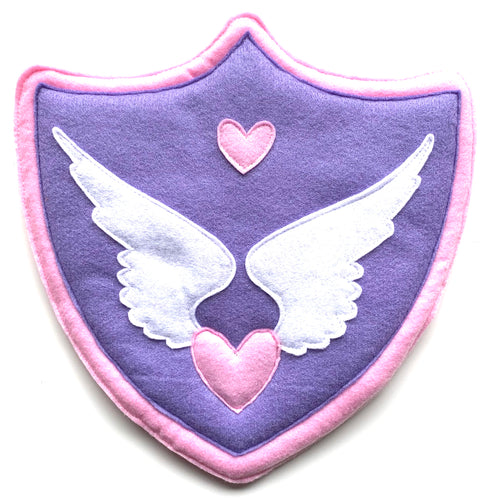 Peony the Pegasus Felted Character Shield