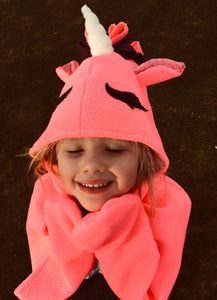 Unicorn Hooded Cape