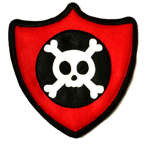 Pirate Felted Character Shield