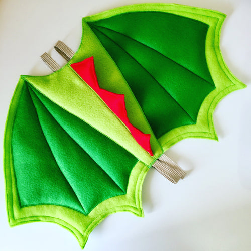 Darcy the Dragon Green Wings