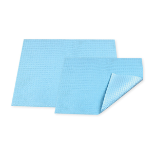 Dental Bib- 20 x 28cm, Blue