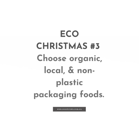 Sustainable Christmas food ideas and recipes.
