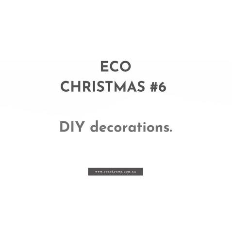 Eco-friendly Christmas decorations ideas.