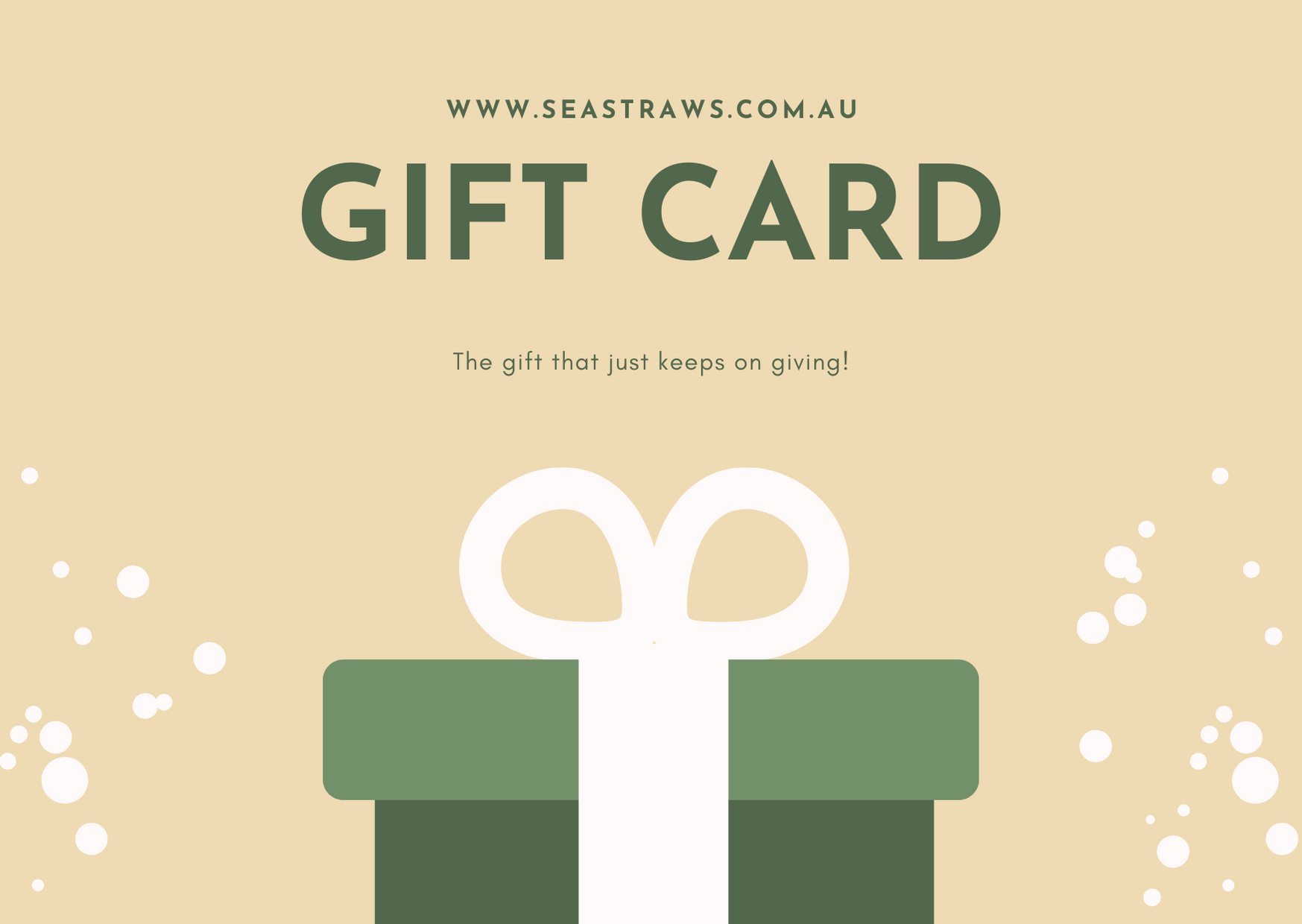 seastraws reusable glass straws gift card online store