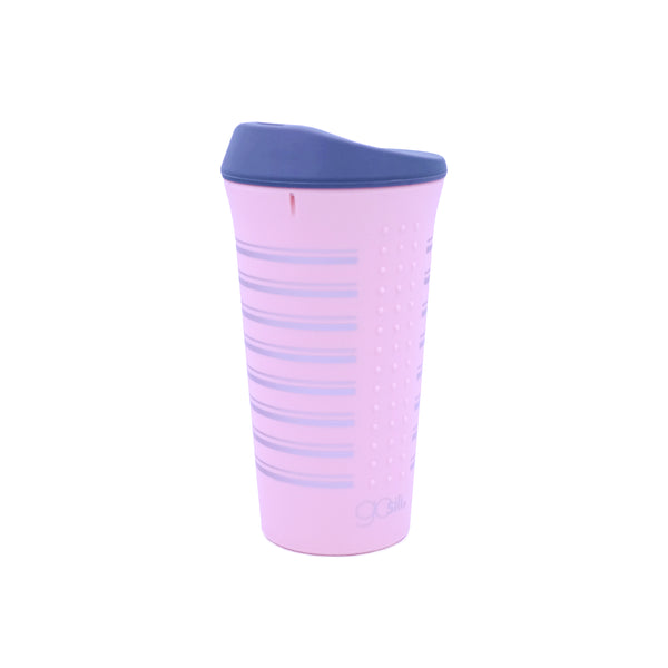 Gosili Printed Silicone To-Go Coffee Cup/ Tea Cup - 16OZ