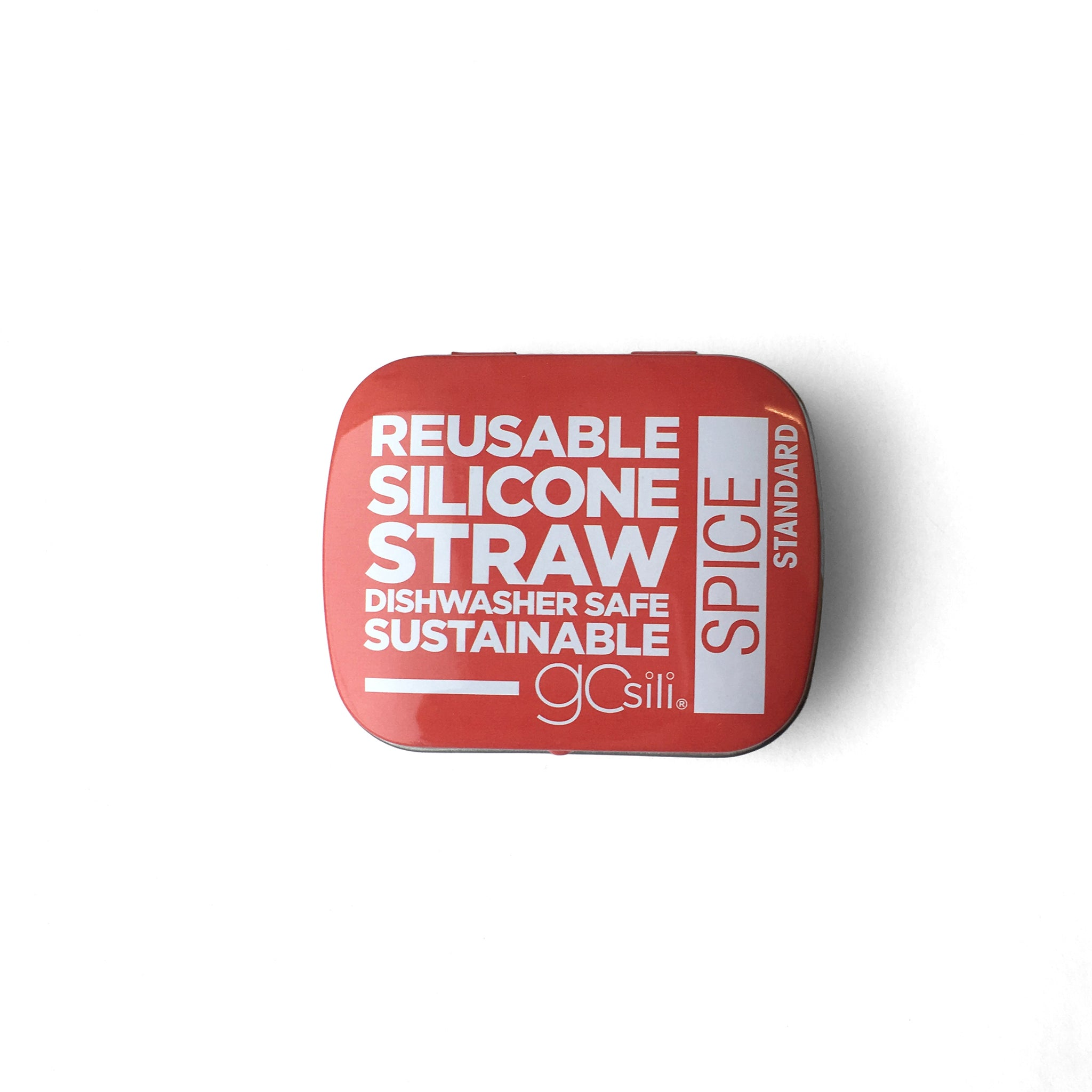 Gosili Portable and Reusable Silicone Straw with Travel Case