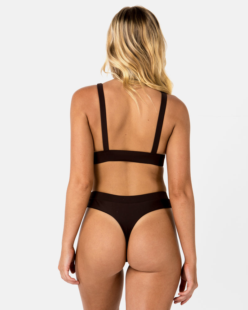 Cyprus Brown Chocolate G Bottom Cheeky Blonde Australian Sustainable Swimwear Recycled Plastic Beachwear