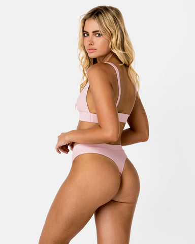 Cyprus Pink Lychee G Bottom Cheeky Blonde Australian Sustainable Swimwear Recycled Plastic Beachwear