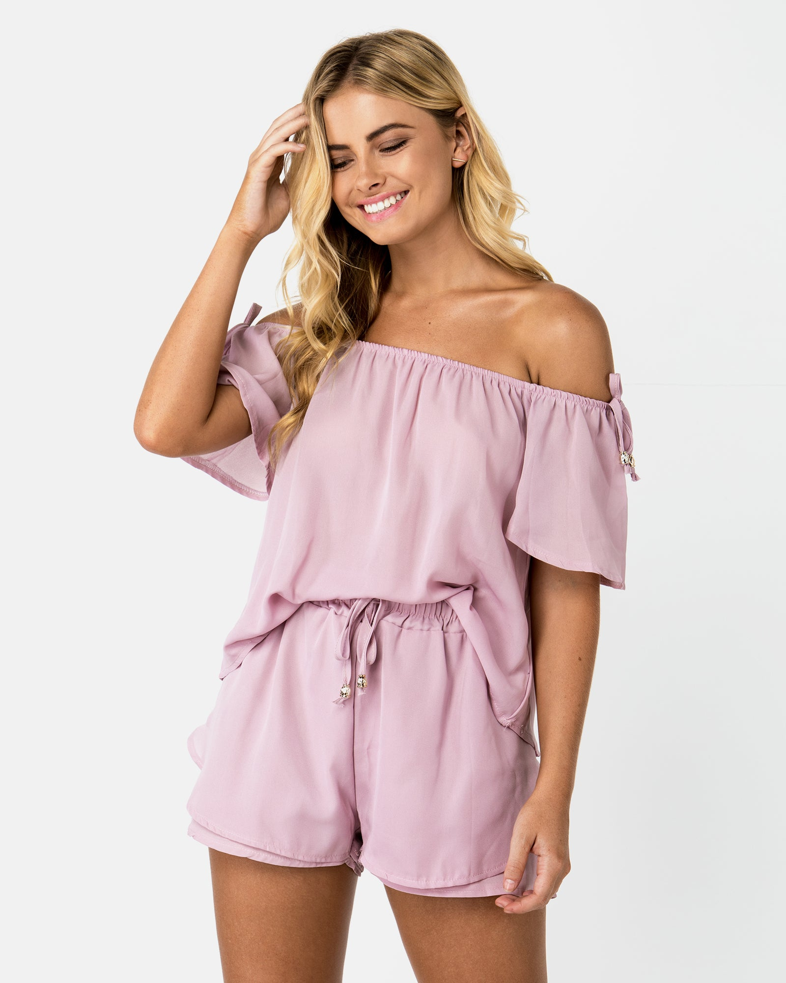 <b>Fiji</b><br>Lavender Playsuit Set