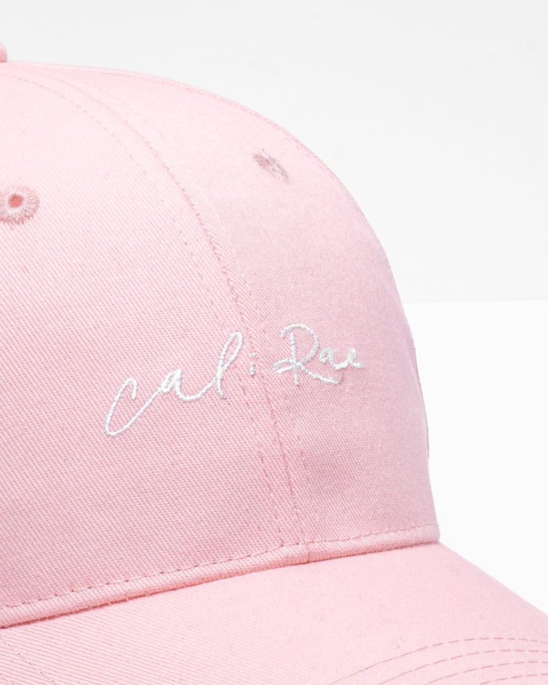 Pink High Pony Tail Cap Hat Sports Summer