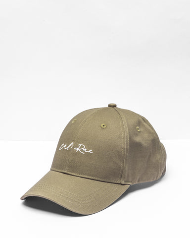 <b>High Life</b><br>Velcro Cap<br>Khaki Hat