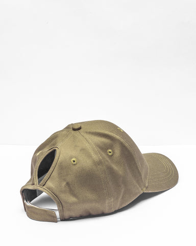 Khaki Green High Pony Tail Cap Hat Sports Summer