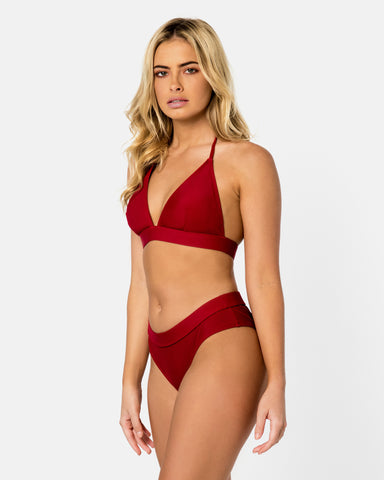 <b>Ios</b><br>Pomegranate Halter Top