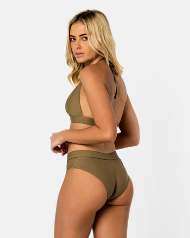 <b>Crete</b><br>Green Apple Spice Bottom<br>Sustainable Australian Swimwear