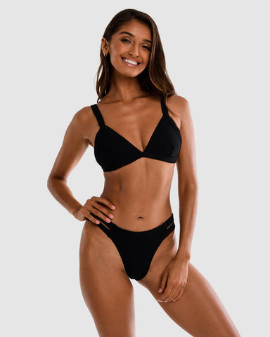 <b>Sicily</b><br>Blackberry Bikini Bottom<br>Sustainable Australian Swimwear