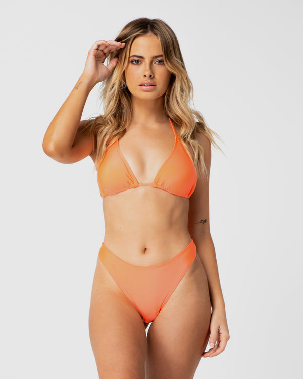 <b>Colombia</b><br>Orange Cheeky Bottoms<br>Sustainable Australian Swimwear