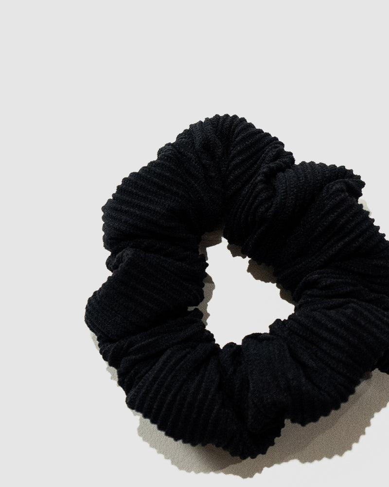 Tahiti Blackberry Ribbed Scrunchie